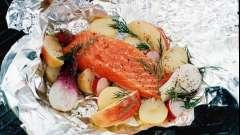 Красная рыба в фольге в духовке: рецепты приготовления