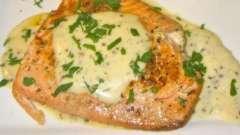 """Красная рыба в мультиварке """"редмонд"""": как приготовить со сливочным соусом"""