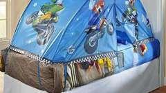 Красота и уют - балдахины для детской кроватки