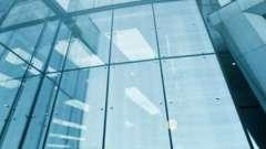 Крепление стекла к стеклу с помощью фурнитуры