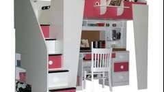 Кровать-чердак «малыш» – мебель для самых маленьких
