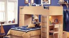 Кровати-чердаки с рабочей зоной – для подростка идеальный вариант