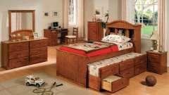 Кровати детские выдвижные – оригинальное оформление детской комнаты