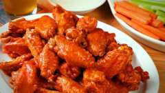 Крылышки баффало: рецепт приготовления