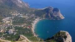Крым: гостиницы на берегу моря. Самые популярные места для отдыха всей семьей