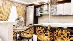 Кухни в стиле арт-деко – необычно, стильно, эффектно