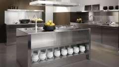 Кухни в стиле хай-тек. Создание дизайна