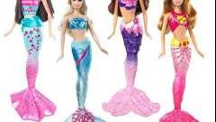 Кукла барби-русалка