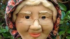 Куклы из капрона и синтепона своими руками
