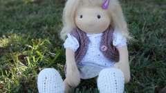 Куклы из капроновых колготок своими руками. Пошаговая инструкция по изготовлению куклы из капроновых колготок