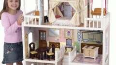 Кукольный домик в подарок малышке