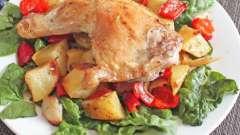 Курица с овощами в мультиварке - сытное блюдо для всей семьи!