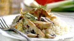 Куриное филе с шампиньонами в мультиварке: рецепты с фото