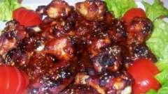 Куриные крылышки в медово-соевом соусе: простой рецепт приготовления