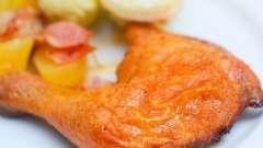 Куриные ножки в фольге в духовке: пошаговый рецепт, особенности приготовления и отзывы