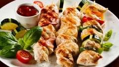 Куриный шашлык: рецепт сталика ханкишиева