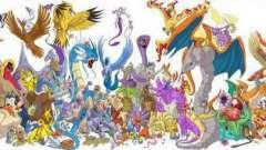 Легендарные покемоны: 1 поколение и их эволюция