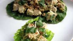 Легкий и изысканный салат с зеленым салатом и курицей: интересные рецепты