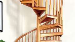 Лестница винтовая – достойный элемент интерьера