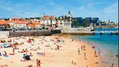 Лиссабон: пляжи, песок, температура воды и волны