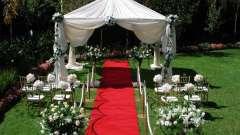 Лучшее украшение зала на свадьбу своими руками