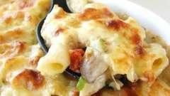 Макароны с курицей в мультиварке, или как приготовить вкусную запеканку