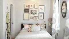 Маленькая спальня - повод для дизайнерской фантазии