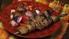 Маринад из вина для шашлыка из свинины