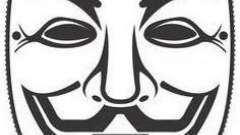 Маска анонимуса своими руками