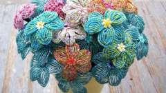 Мастер-класс: цветы из бисера. Своими руками сделаем очаровательный гиацинт