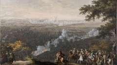 Мать полтавской баталии - сражение при лесной. Победы петра первого