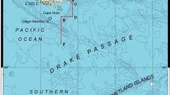 Межконтинентальный пролив дрейка - самый широкий пролив в мире