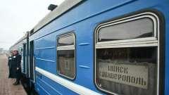 Минск - симферополь: поезд, маршрут, стоимость билета