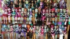 "Мир игрушек ""монстер хай"": куклы, обзор, описание"