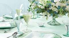 Мятная свадьба: идеи декора