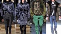 Модные мужские куртки: фасоны, расцветки, материалы