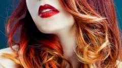 Модный тренд: окрашивание омбре на темных волосах