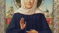 Молитва матроне о ребенке. Православная молитва