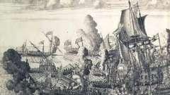 Морское сражение у мыса гангут (1714 год)