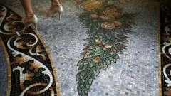 Мозаичные полы – истинное украшение любого помещения