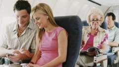 Можно ли летать на ранних сроках беременности (2-3 недели)? Советы врачей
