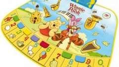 Музыкальные коврики - полезные развивающие игрушки