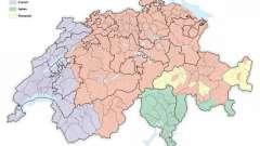 На каких языках говорят в швейцарии? Государственные языки страны