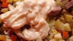 На заметку хозяйкам: салат из говяжьего сердца с солеными огурцами