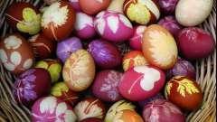 Натуральные красители для яиц – просто и безопасно