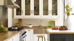 Навесные шкафы для кухни: интересное решение для хранения мелочей