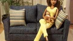 Несколько подсказок о том, как сделать диван для куклы