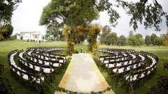 Незабываемая свадебная церемония