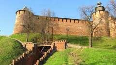 Нижний новгород. Кремль - крепость в центре города (фото)