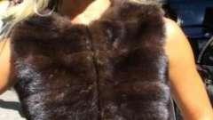 Норковая жилетка: как выбрать и с чем носить?
